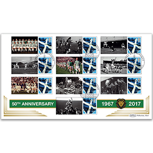 2017 Lisbon Lions Commemorative Sheet BLCSSP Cover