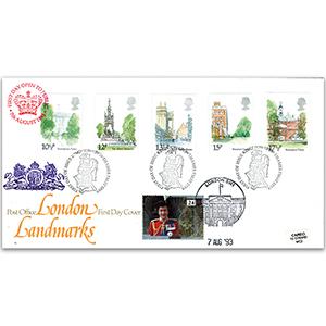 1980 London Landmarks - Kingston-upon-Thames FDI - Doubled 1993
