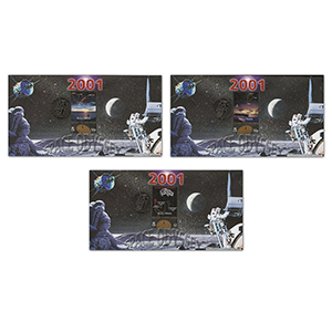 2001 Isle of Man Space Odyssey - Set of 3