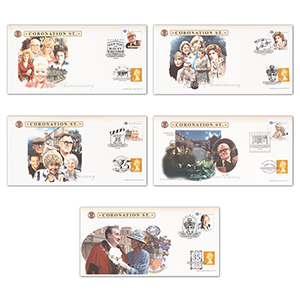 1995 Coronation Street 35th Anniversary - Set of 5