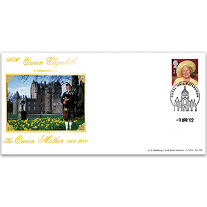 2002 Queen Mother Commemorative Cover