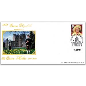 2002 Queen Mother Commemorative Cover