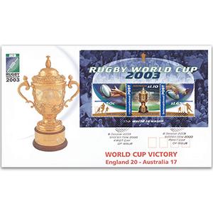 2003 Australia Post - Rugby World Cup M/S - Sydney FDI