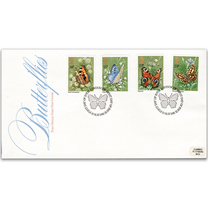 1981 Butterflies Post Office FDC - London SW