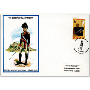 1972 Military Uniforms - Jersey Artillery Militia - Jersey 2/5p