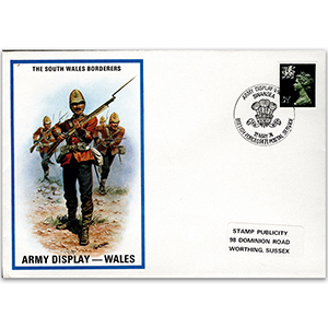1974 British Military Uniforms - South Wales Borderers - 3.5p Stamp