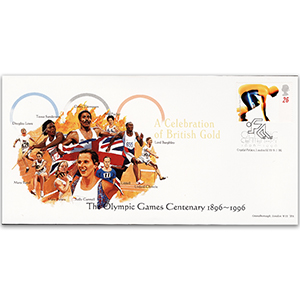 1996 Olympic Games Centenary - Celebration of British Gold - Set of 5