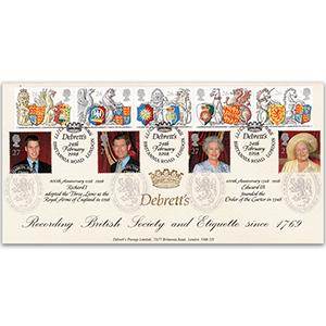1998 The Queen's Beasts - Debretts Peerage, Britannia Road - Doubled 2000