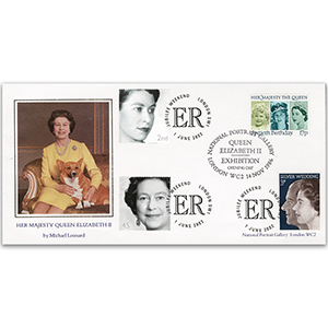 1986 Queen's Portrait Exhibition Doublde 2002 Queen Elizabeth II Jubilee Weekend spec h/s