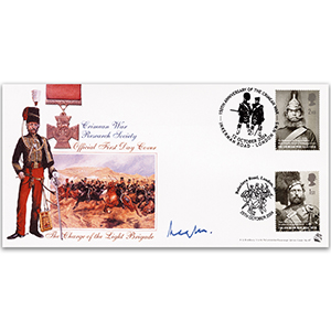 2004 Crimean War Research Society Official - Doubled - Signed by Lord Raglan