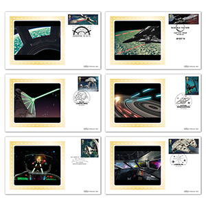 2015 Space Adventure M/S BS - Set of 6