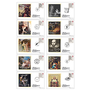 2016 Shakespeare BS Set (10 Cvrs)