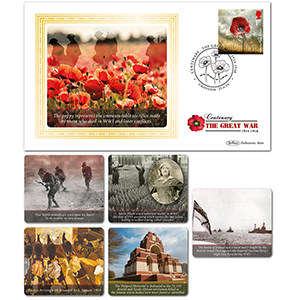 2016 WW1 Stamps BS SET