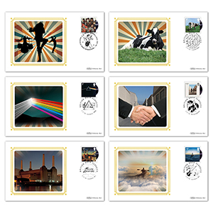 2016 Pink Floyd Stamps BS Set