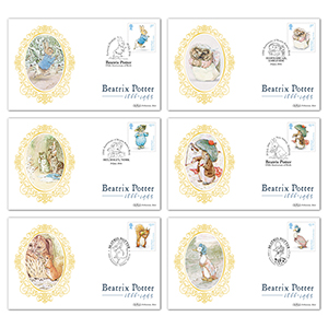 2016 Beatrix Potter Stamps BS Set