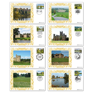 2016 Landscape Gardens Stamps - BS Set