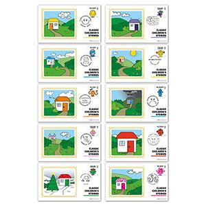 2016 Mr Men Stamps BS SET