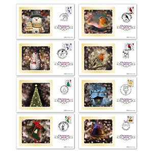 2016 Christmas Stamps BS Set