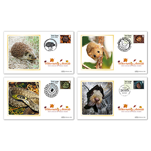 2016 Post & Go Hibernating Animals BS Set