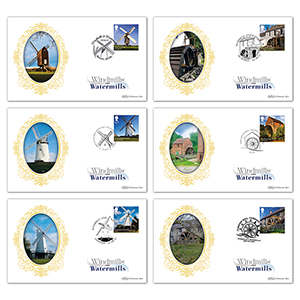 2017 Windmills and Watermills Stamps BS Set