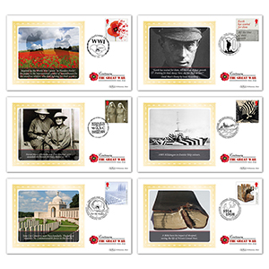 2017 WWI Stamps BS Set