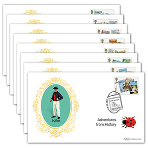 2017 Ladybird Books Stamps BS Set