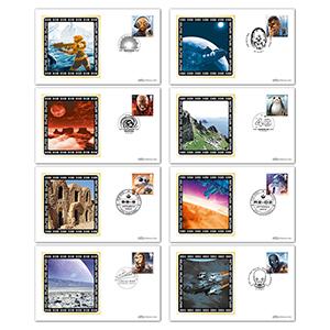 2017 Space Adventure Stamps - Benham BS Cover Set