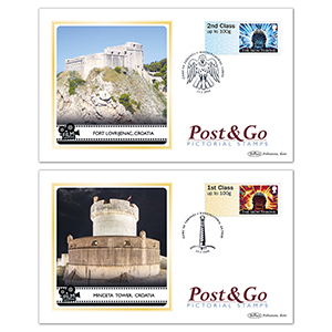 2018 Game of Thrones Post & Go Stamps - Benham BS Cover Set