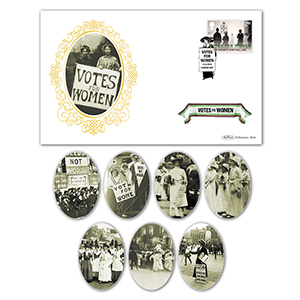 2018 Votes For Women Stamps BS Set