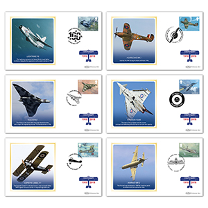 2018 RAF 100th Anniversary Stamps BS Set