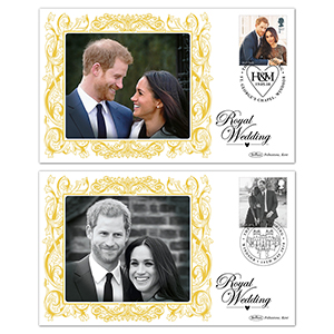 2018 Royal Wedding M/S BS Pair of Covers