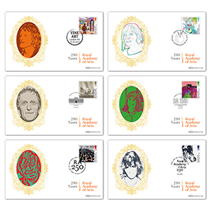 2018 Royal Academy of Arts 250th Stamps BS Set