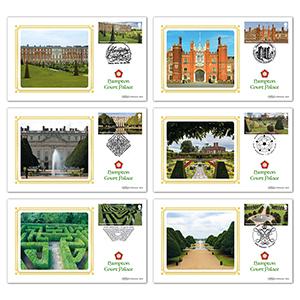 2018 Hampton Court Palace Stamps BS Set