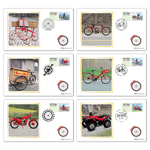 2018 Post & Go - Mail by Bike BS Set