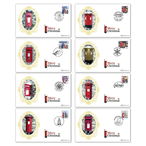 2018 Christmas Stamps BS Set
