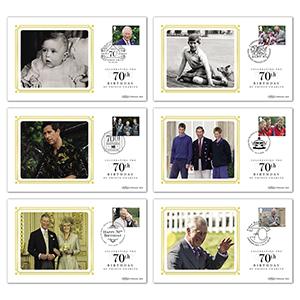 2018 Prince Charles 70th M/S BS Set
