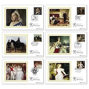 2019 Queen Victoria Stamps BS Set