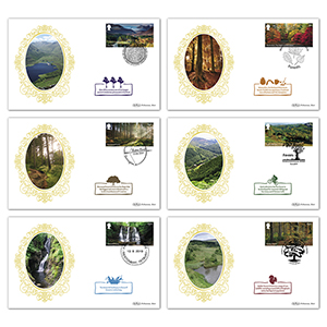 2019 Forests Stamps BS Set