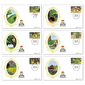 2019 The Gruffalo Stamps BS Set