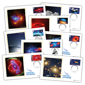 2020 Visions of the Universe Stamps BS Set