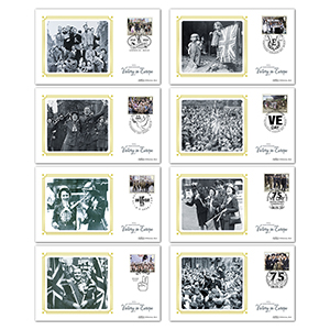 2020 End of WWII Stamps BS Set