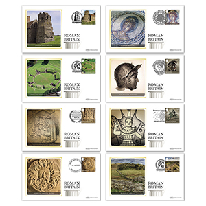 2020 Roman Britain Stamps BS Set