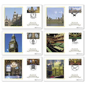 2020 Palace of Westminster Stamps BS Set