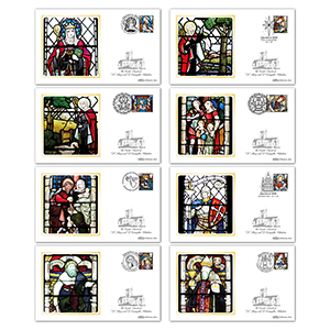 2020 Christmas Stamps BS Set