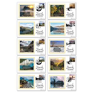2021 National Parks Stamps BS Set