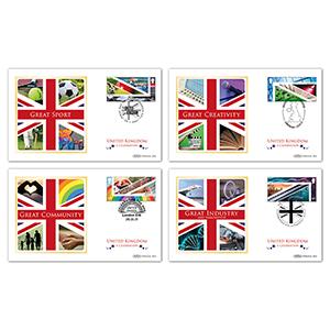 2021 United Kingdom - A Celebration M/S BS Set