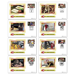 2021 Only Fools & Horses Stamps BS Set