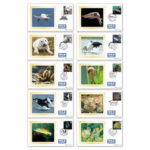 2021 Wild Coasts Stamps BS Set