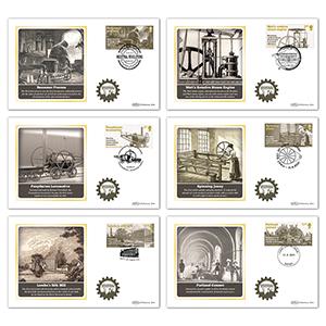 2021 Indsutrial Revolutions Stamps BS Set