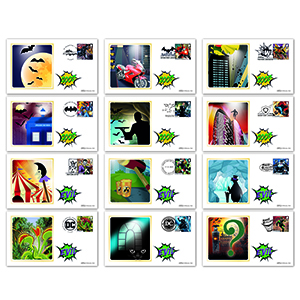 2021 DC Collection Stamps BS Set